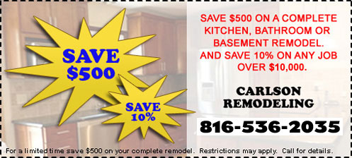 Remodeling Coupon